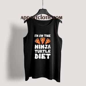 I'm On The Ninja Turtle Diet Tank Top for Men's or Women's