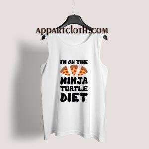 I'm On The Ninja Turtle Diet Tank Top for Unisex