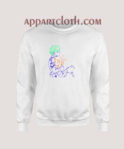 Midoriya x Uraraka Love Sweatshirt
