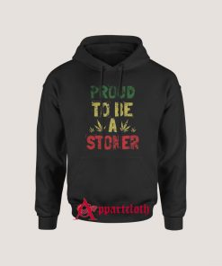Proud To Be A Stoner Vintage Hoodie for Unisex