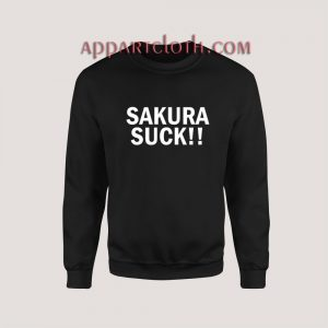 Sakura Suck Sweatshirt for Unisex