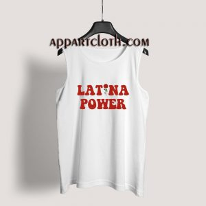 Latina Power Tank Top for Unisex