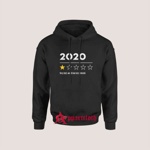 2020 Very Bad Would Not Recommend Hoodie for Unisex