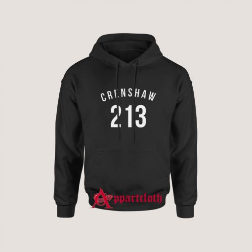213 Crenshaw LA Edition Hoodie for Unisex