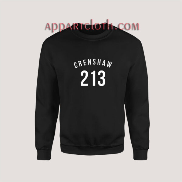 213 Crenshaw LA Edition Sweatshirt for Unisex