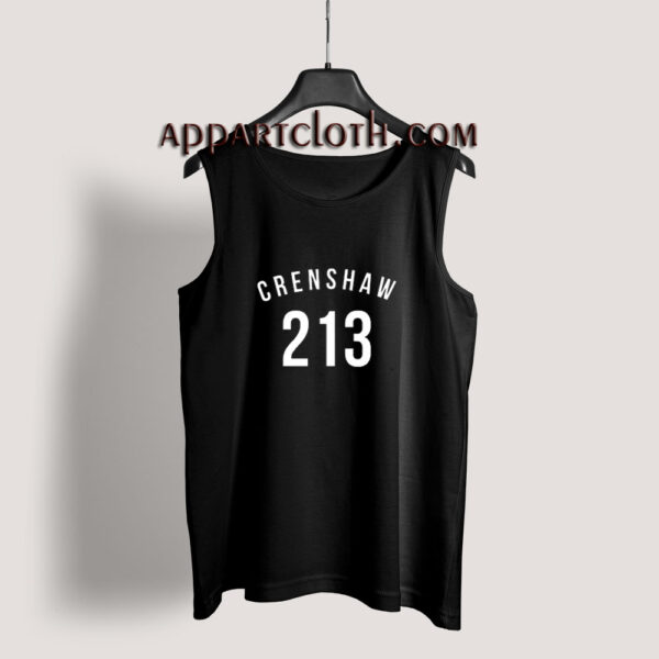 213 Crenshaw LA Edition Tank Top for Unisex