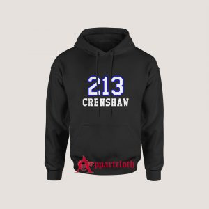 213 Crenshaw Los Angeles Hoodie for Unisex