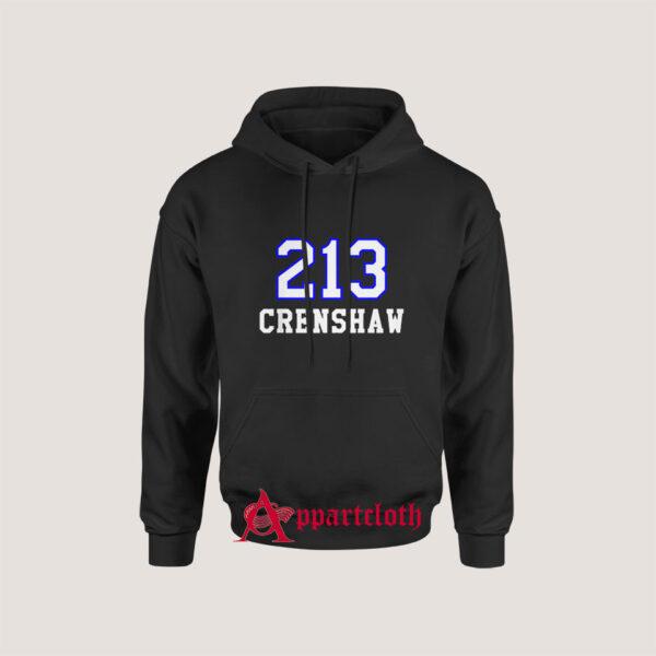 213 Crenshaw Los Angeles Hoodie for Unisex
