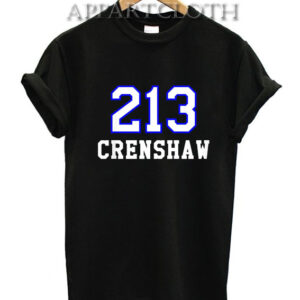 213 Crenshaw Los Angeles T-Shirt for Unisex