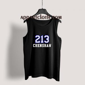 213 Crenshaw Los Angeles Tank Top for Unisex