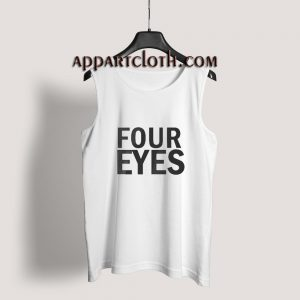 Four Eyes Tank Top for Unisex