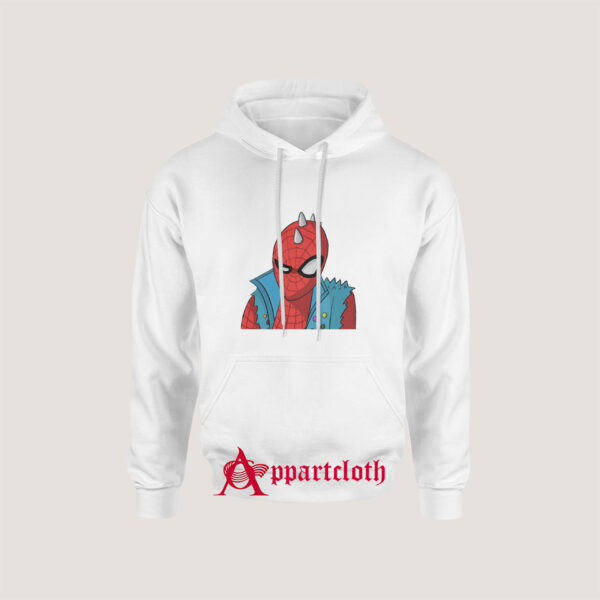 Funny Movie Spider Punk Hoodie