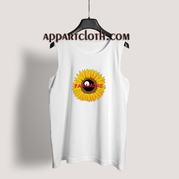 Paramore Sunflower Tank Top for Unisex