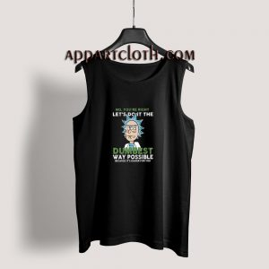 Rick and Morty Dumbest Tank Top for Unisex