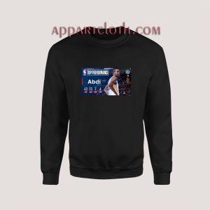 Top Peformance Abdi Sweatshirt for Women's or Men's