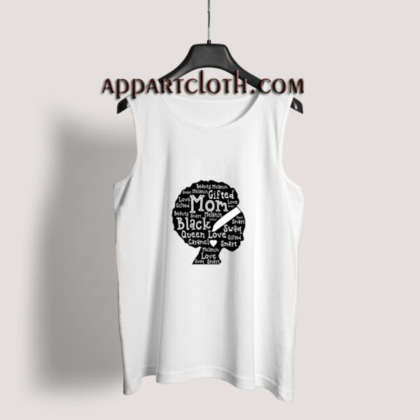 Black History Month African American Mom Tank Top