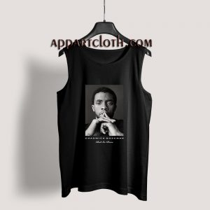Black Panther Rest in Peace Chadwick Boseman Tribute Tank Top
