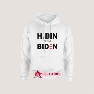 Hiden' from biden Hoodie
