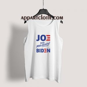 Joe No Malarkey Biden Tank Top