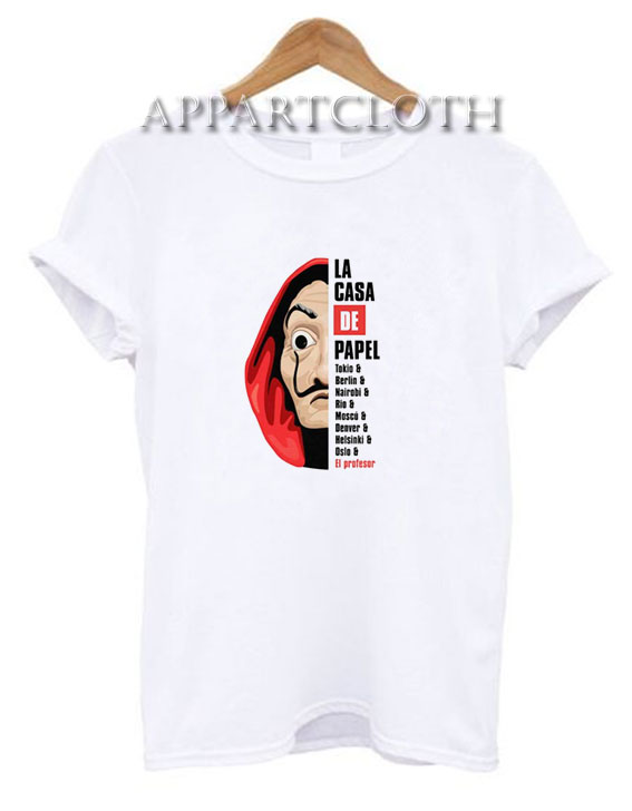 La Casa De Papel Money Heist T-Shirt