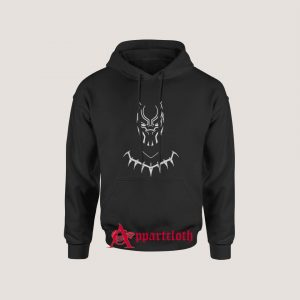 Wakanda Forever Black Panther Hoodie