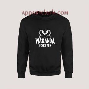 Wakanda Forever Black Panther Sweatshirt