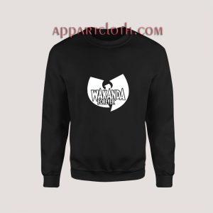 Wakanda Forever Wu Tang Clan Sweatshirt