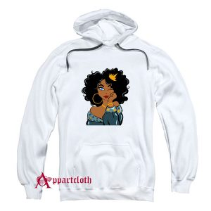 Black Queen Black Girl Magic Black Woman Hoodie