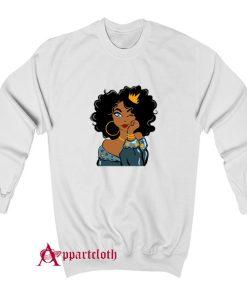 Black Queen Black Girl Magic Black Woman Sweatshirt