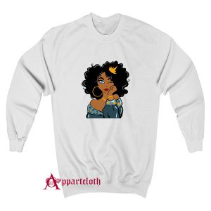 Black Queen Black Girl Magic Black Woman Sweatshirt