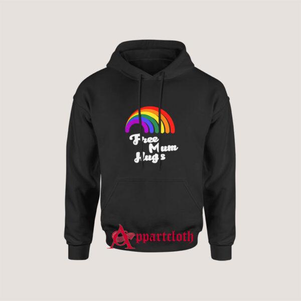 Free Mum Hugs Proud Mom LGBT Hoodie