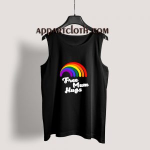 Free Mum Hugs Proud Mom LGBT Tank Top