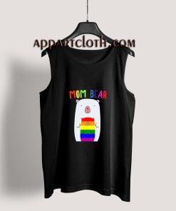 Gay Pride Proud Mama Bear LGBT Tank Top