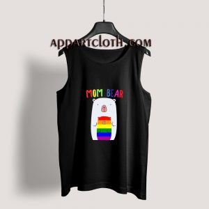 Gay Pride Proud Mama Bear LGBT Tank Top