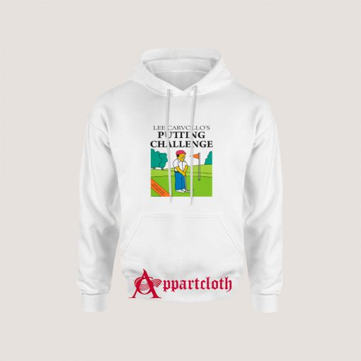 Lee Carvallo's Putting Challenge Hoodie
