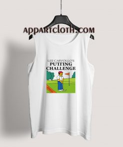 Lee Carvallo's Putting Challenge Tank Top