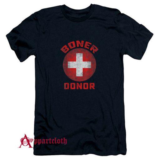Boner Donor Funny Halloween T-Shirt