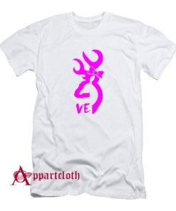 Browning Deer Love T-Shirt