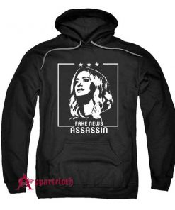 Fake news Assassin Kayleigh Mcenany Hoodie