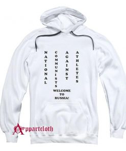 NCAA National Communists Against Athletes Hoodie