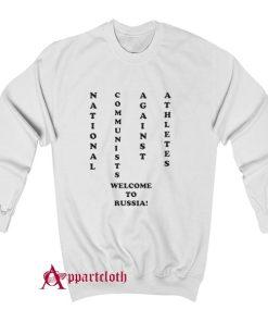 NCAA National Communists Against Athletes Sweatshirt