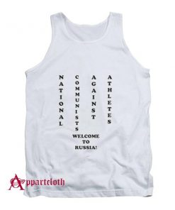 NCAA National Communists Against Athletes Tank Top