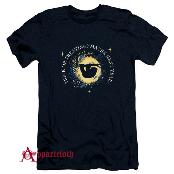 Halloween Sloth Trick Or Treating T-Shirt