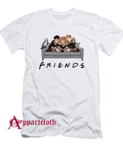 Harry Potter Characters Friends TV Show T-Shirt