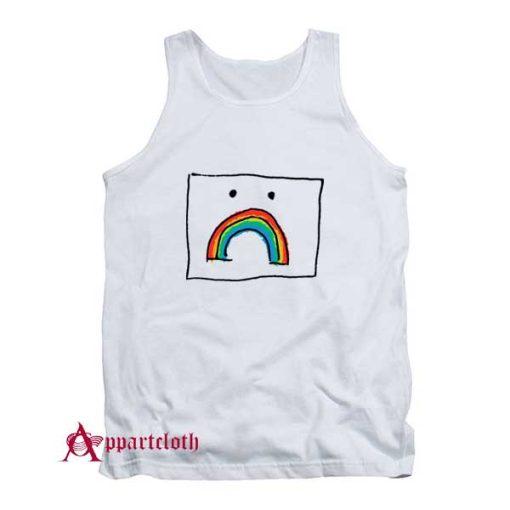 Sad Rainbow Tank Top