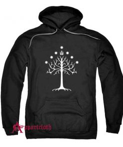 The white tree of Gondor Hoodie