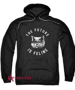 The Future Is Feline Hoodie