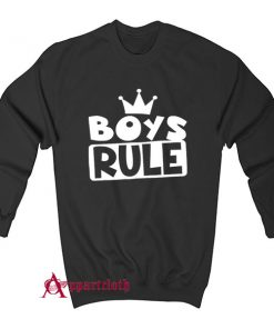 Boys Rule Sweatshirt