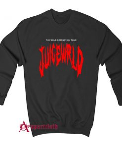 THE WRLD DOMINATION TOUR JUICE WRLD Sweatshirt