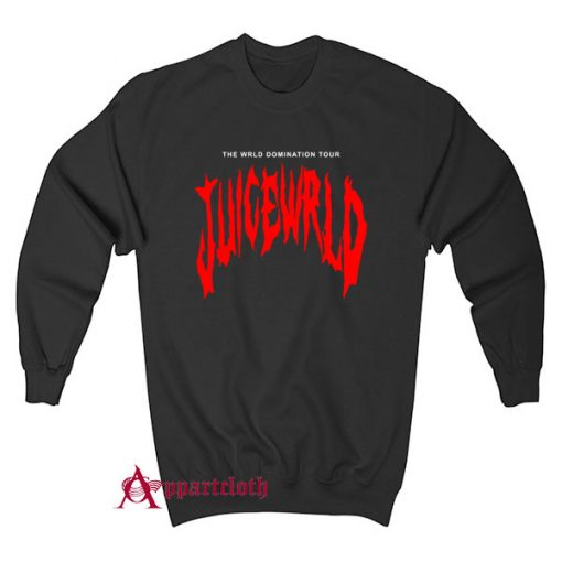 THE WRLD DOMINATION TOUR JUICE WRLD Sweatshirt